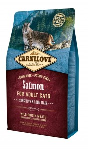 CARNILOVE Cat Salmon SENSITIVE & LONG HAIR 2kg