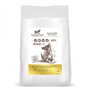 NATURAL TRAIL Dog Country Side Medium Breed 65% Mięsa 2kg