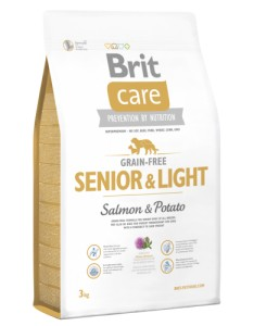 BRIT Care Grain Free SENIOR LIGHT Salmon & Potato 3kg