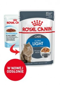 ROYAL CANIN Ultra Light GALARETKA 12x85g