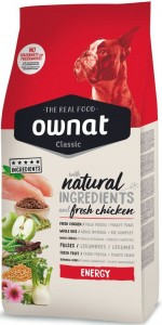 OWNAT Classic Dog ENERGY 20kg (OPTIMA Energy)