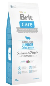 BRIT Care Grain Free JUNIOR LARGE Salmon & Potato 12kg
