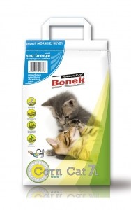 SUPER BENEK Corn Cat Świeża Trawa 7L
