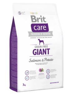 BRIT Care Grain Free GIANT Salmon & Potato 3kg