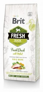 Brit FRESH Duck & Millet Active 2,5kg