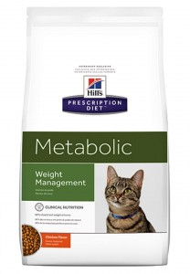 HILL'S PD Feline Weight Management Metabolic 4kg