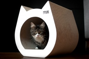 HOUSE OF CATS Drapak Mebel Cat White