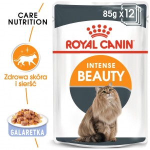 ROYAL CANIN Intense Beauty GALARETKA 12x85g
