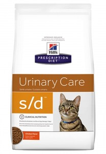 HILL'S PD Feline s/d Urinary Care 5kg