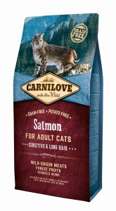 CARNILOVE Cat Salmon SENSITIVE & LONG HAIR 6kg