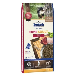 BOSCH Mini Adult Lamb & Rice 15kg