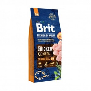 BRIT Premium by Nature Senior SMALL MEDIUM 15kg