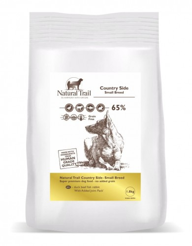 NATURAL TRAIL Dog Country Side Small Breed 65% Mięsa 1,8kg